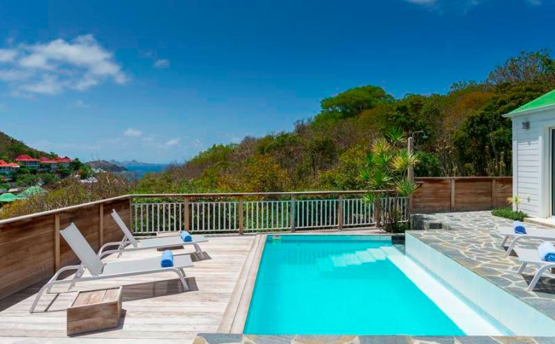 Apsara at Flamands, St. Barth - Ocean View, Pool, Short Drive To Beach - Image 1 - Flamands - rentals