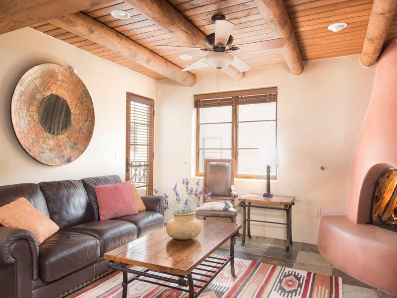 Living Room - Downtown Delight at El Corazon - Santa Fe - rentals