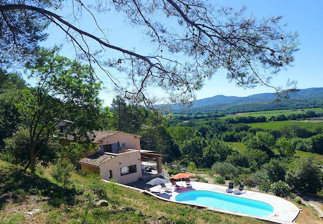 Montfort-sur-Argens Provence Var, Big villa 10p with nice view, private pool - Image 1 - Montfort-sur-Argens - rentals