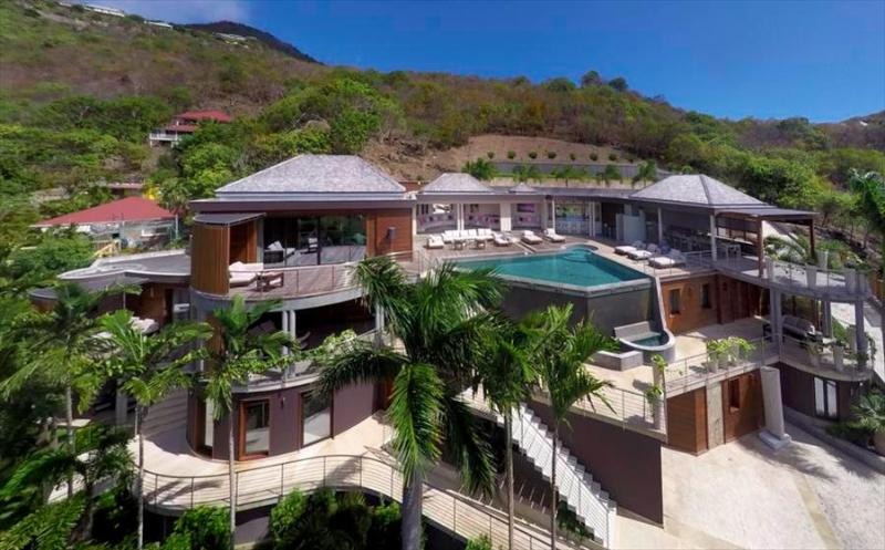 Castel Rock at Lorient, St. Barth - Private Pool, Modern decor, Close to beach - Image 1 - Gustavia - rentals