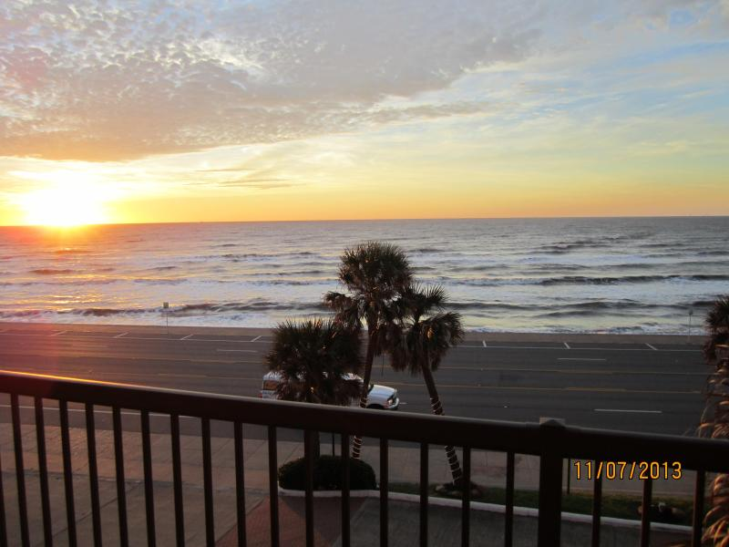 View from Balcony - Gulf Front Luxury Condo Breath Taking View 401 - Galveston - rentals