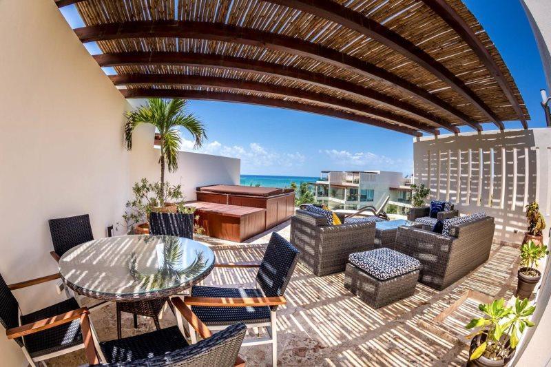 Ocean View Penthouse at The Elements PH 18 - Image 1 - Playa del Carmen - rentals