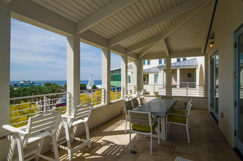 Amazing patio views - Far Niente - Seaside - rentals