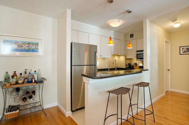 Granite Breakfast Bar and Stainless Steel Appliances - Beacon Hill, Boston - Boston - rentals