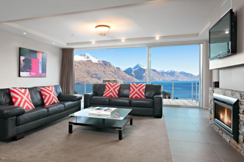 Living room - 25 On The Terrace, Queenstown - Queenstown - rentals