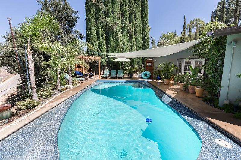 The Pool area - country guesthouse/duplex view & heated pool - Los Angeles - rentals