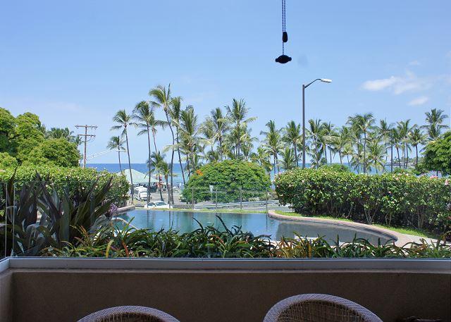 Ocean Views From Lanai - The Beach Villas at Kahalu'u 102 - Across From Snorkel Beach! - Kailua-Kona - rentals