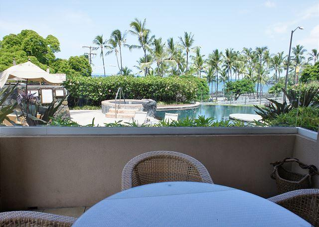 Ocean Views From Lanai - AC Included! The Beach Villas at Kahalu'u 101 - Across from snorkel beach! - Kailua-Kona - rentals