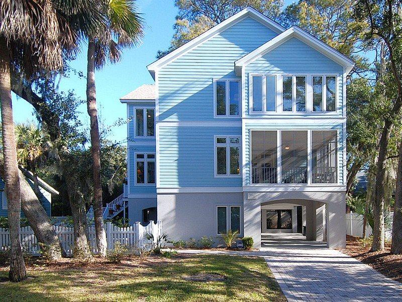 Front Elevation - Osprey 3 - Hilton Head - rentals