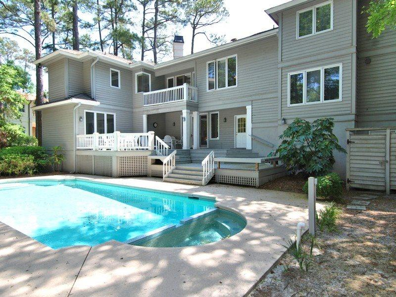 Pool and Spa View - Ketch 4 - Hilton Head - rentals