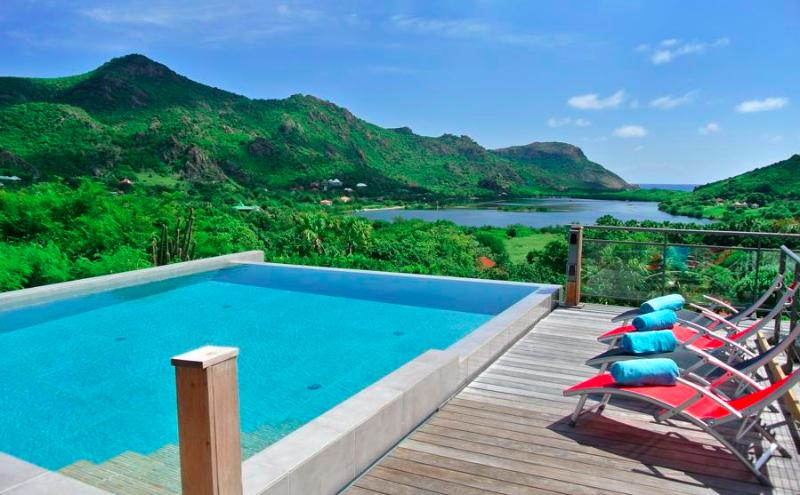 Villa Harry at Saline, St Barth - Private Pool, Scenic Views, Walk to Beach - Image 1 - Gouverneur - rentals