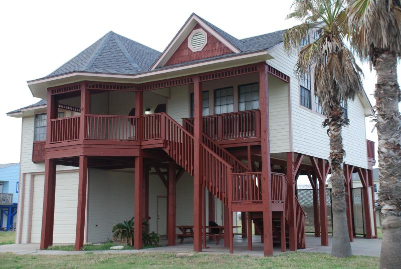 Northwest View of House - Adam's Resort - Galveston - rentals