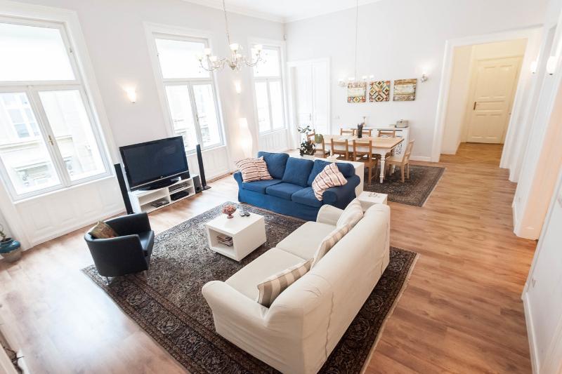 Living Room - Victoria Rooms 3 Bedrooms & 3 Bathrooms - Budapest - rentals