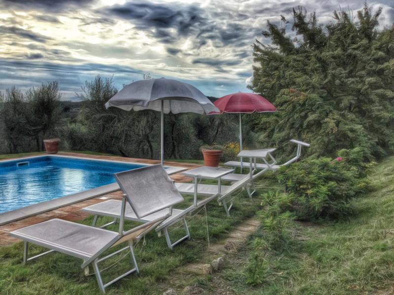 Pool in September - 5 BDR Villa, Pool, Wifi, AC in Siena Countryside - Siena - rentals