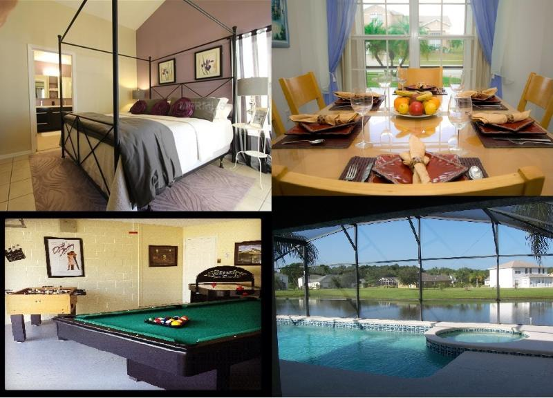 More than one villa - From3to6BR Homes -GameRM,Luxury,WiFi,BBQ,Pets,View - Orlando - rentals