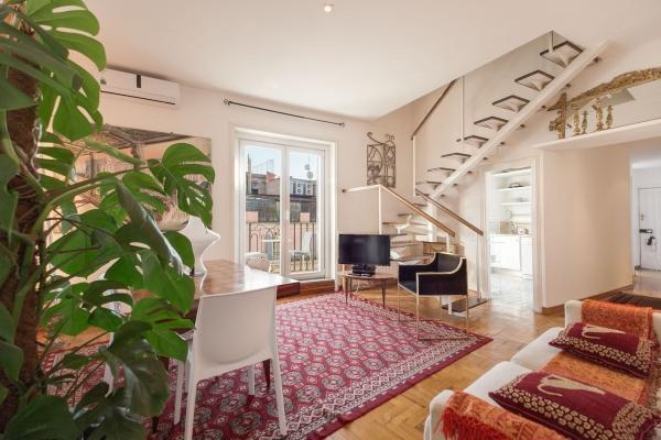 CR860bRome - Via Nazionale Duplex with Terraces - Image 1 - Roma - rentals