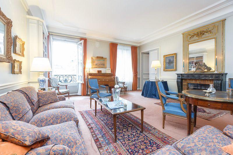 Living room - Kleber Chic - Paris - rentals