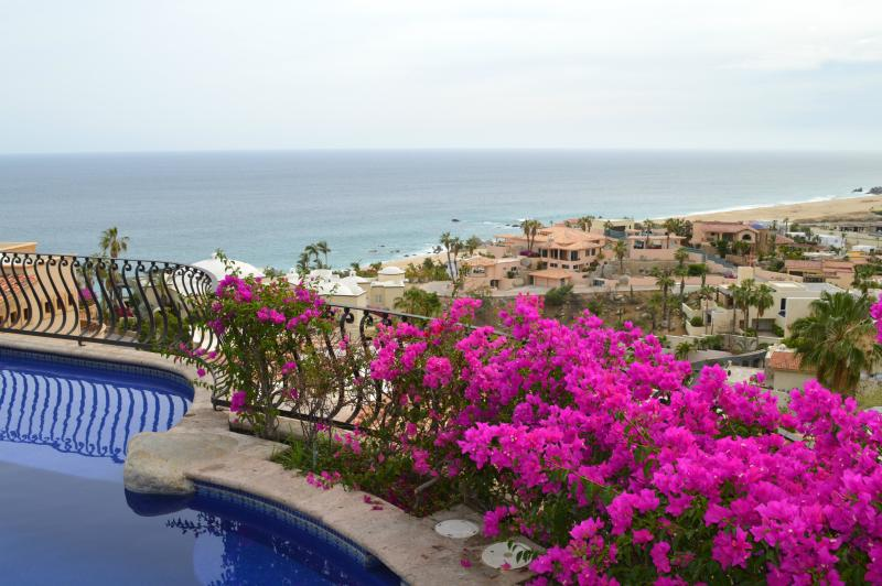 Beautiful views of the Pacific Ocean and Pedregal Beach - Villa Las Flores - Cabo San Lucas - rentals