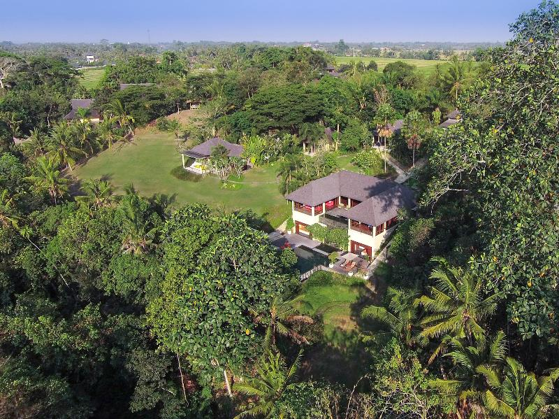 The Arsana Estate - Aerial from front right of villa - The Arsana Estate - an elite haven - Tabanan - rentals