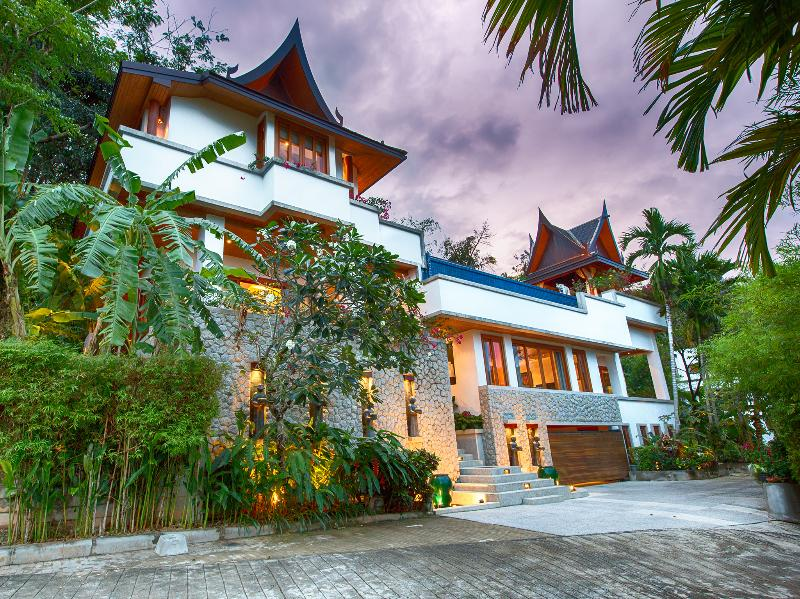 Baan Surin Sawan - Villa external view from driveway - Baan Surin Sawan - an elite haven - Surin - rentals