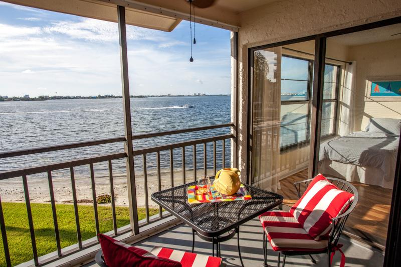 Relax on your balcony watching the dolphins, boats, and sea birds go by - Amazing water views! Near beaches, big pool & spa! - Saint Petersburg - rentals