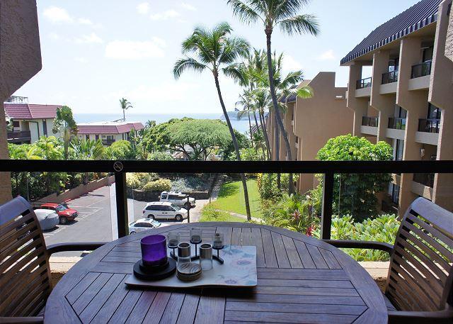 Lanai with Ocean Views - Kona Pacific E630 - Kailua-Kona - rentals