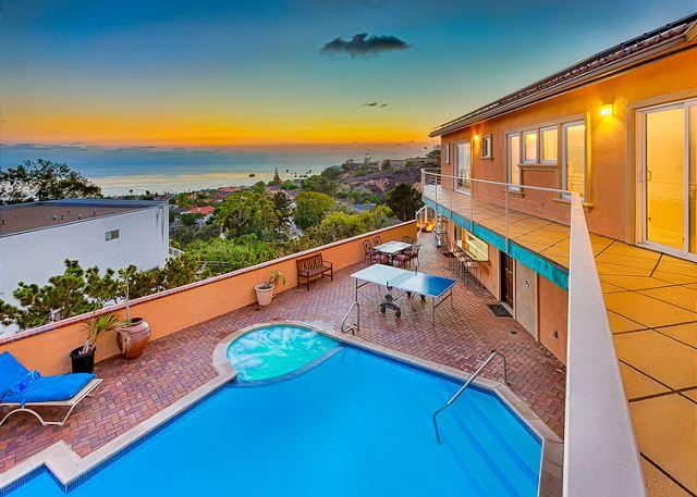 Enjoy spectacular ocean views and your own private pool and spa - 15% OFF FEB - Private pool + jacuzzi, panoramic ocean, sunset, and city views - La Jolla - rentals