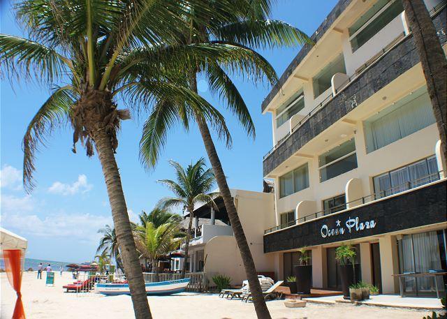 Loft style condo with pool, 2 bedroom in Ocean Plaza OP7 - Image 1 - Playa del Carmen - rentals