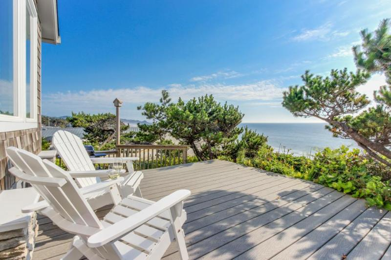 Perfect oceanfront beach getaway with amazing views - walk to the beach! - Image 1 - Gleneden Beach - rentals