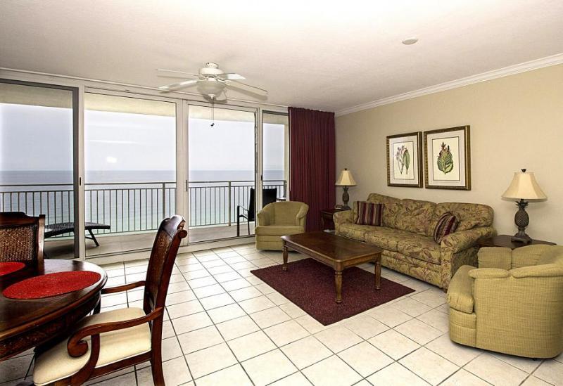 Stunning 18th-floor beachfront condo w/ views, a balcony & shared pool/hot tub! - Image 1 - Panama City Beach - rentals