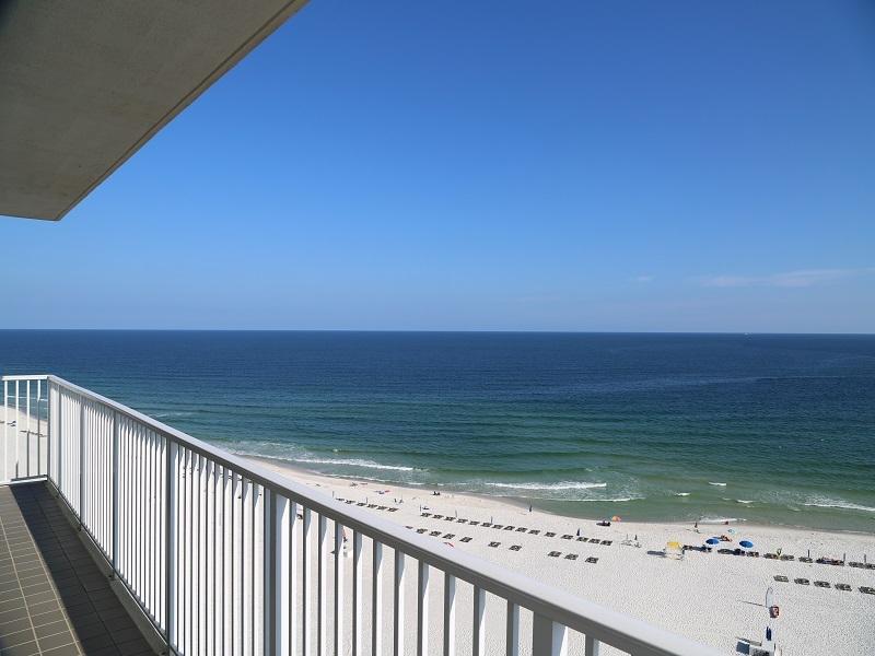 Direct, Gulf Front view from wraparound balcony! - Shoalwater 1106 -Corner unit-wraparound balcony! - Orange Beach - rentals