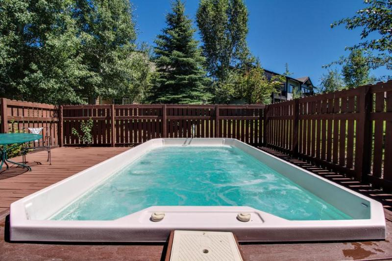 Mountain retreat w/ shared hot tub & playground- close slopes & bus stop! - Image 1 - Steamboat Springs - rentals