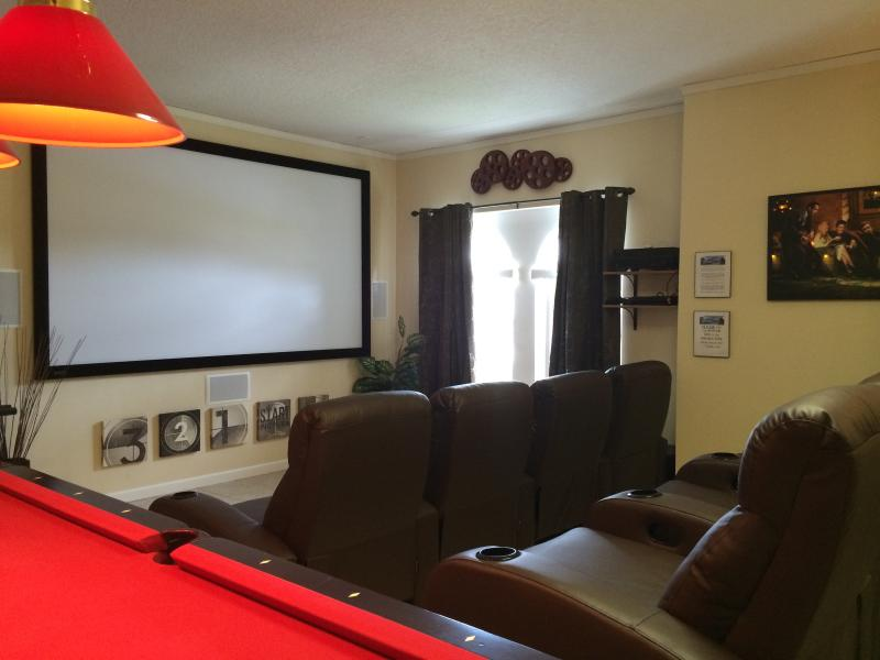 Theatre Room with 125