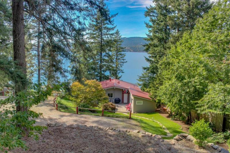 Secluded waterfront cabin & separate bungalow w/private beach & dock! - Image 1 - Coeur d'Alene - rentals