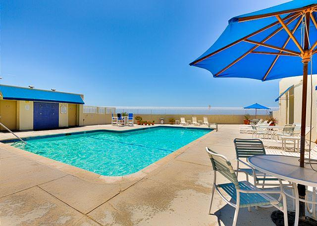 Beautiful Beach Front Condo - Private Pool, Steps to the Sand and Pier - Image 1 - Huntington Beach - rentals