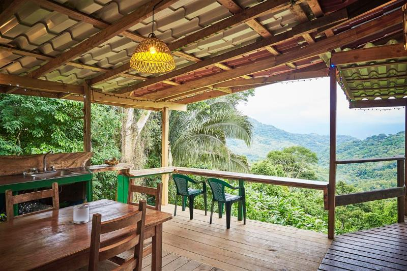 Amazing outdoor kitchen! - Las Palmas Cabin, first breakfast included! - Dominical - rentals