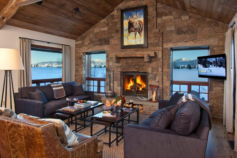 Shooting Star Cabin 4, Sleeps 12 - Image 1 - Teton Village - rentals