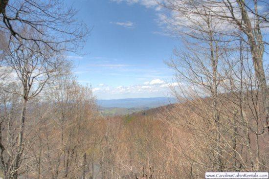 View from Beech Vista on the Back Deck - Beech Vista - Beech Mountain - rentals