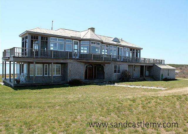 Stunning Waterfront Home & Guest Cottage on Private Peninsula! - Image 1 - Edgartown - rentals