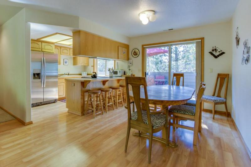 Family-friendly Sunriver home w/SHARC access & large decks! - Image 1 - Sunriver - rentals