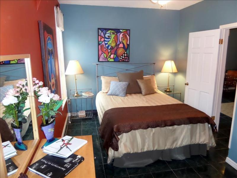 The Moderne Apt, Vibrant Artist's Suite in Downtown, Private Balcony - Image 1 - Eureka Springs - rentals
