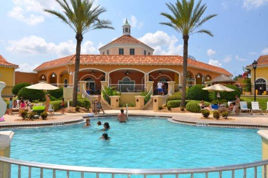 Beautiful 4 Bedroom 3.5 Bathroom Town Home in Regal Palms. 570CA - Image 1 - Kissimmee - rentals