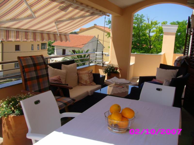 A2(2+2): common terrace - 5371 A2(2+2) - Privlaka - Privlaka - rentals