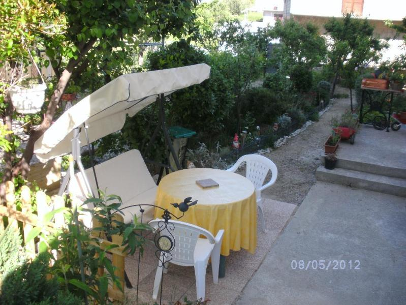 SA2(3): garden terrace - 5493 SA2(3) - Podstrana - Podstrana - rentals