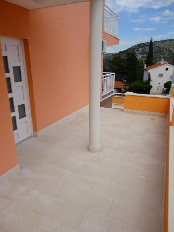 A2(4+1): terrace - 5572 A2(4+1) - Rogoznica - Rogoznica - rentals