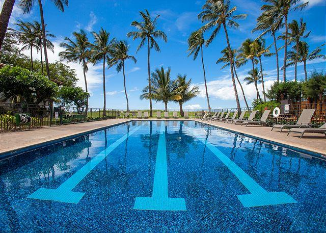 Waiohuli Beach Hale #C-110 2B/2B. Ocean Views! Sleeps 4. - Image 1 - Kihei - rentals