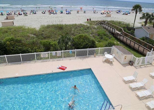 Beautiful&Bright Ocean Front-2B/2B Shore Drive, Myrtle Beach #A307 - Image 1 - Myrtle Beach - rentals