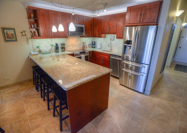 Superior ocean view from this fully remodeled 4th floor condo! - Image 1 - Kihei - rentals