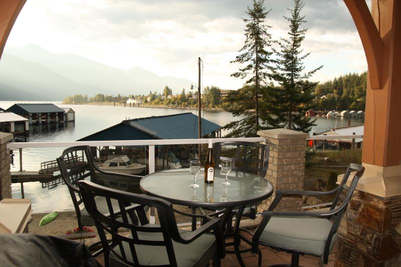 Life is good. - Spectacular Lakefront Condo on Kootenay Lake - Kaslo - rentals