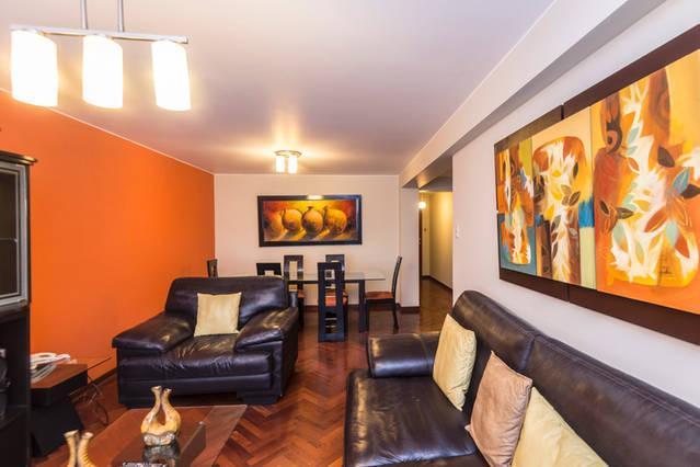 4 BEDROOM APT NEAR LARCOMAR  5TH MIRAFLORES - Image 1 - Lima - rentals